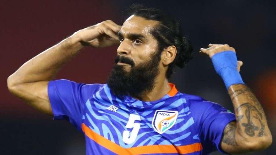 sandesh jhingan named aiff footballer of the year- India TV Hindi
