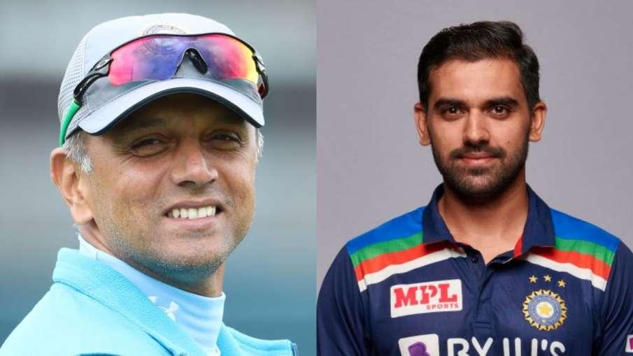 deepak chahar says Rahul Dravid isn't just...- India TV Hindi