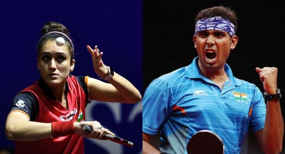 Tokyo Olympics 2020, Manika, Sutirtha, Table Tennis  Sharath Kamal, India- India TV Hindi