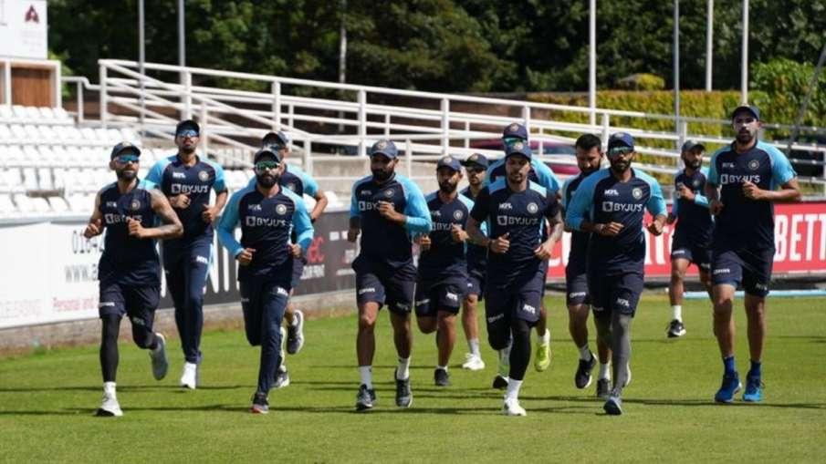 Team India Begin Training Ahead Of Warm-Up Match In...- India TV Hindi
