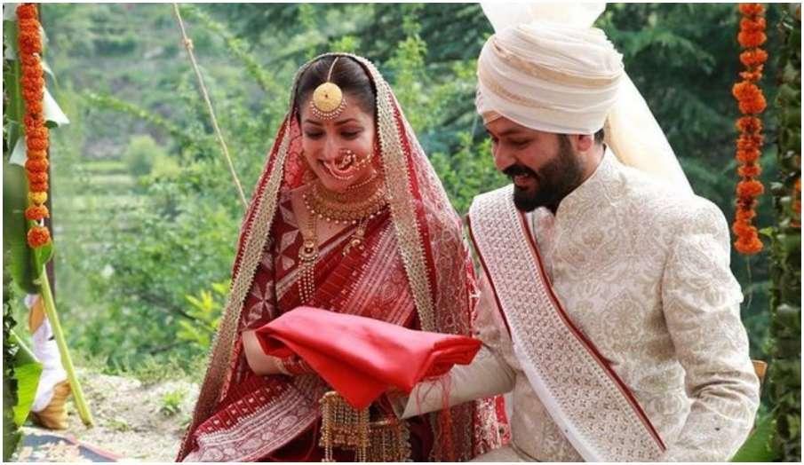 Yami Gautam aditya dhar one month wedding anniversary actress shares new photo of their marriage - India TV Hindi