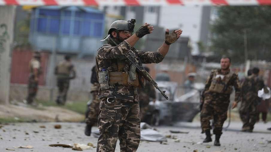 Rocket attack on Kandhar Airport Afghanistan अफगानिस्तान के कंधार एयरपोर्ट पर राकेट से हमला- India TV Hindi