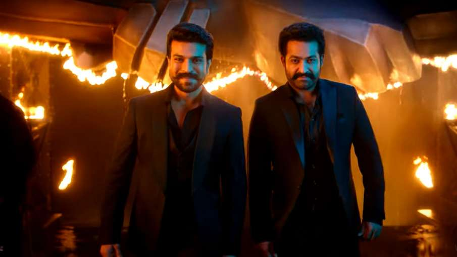 rrr makers release film first song dosti ram charan jr ntr on friendship day 2021 - India TV Hindi