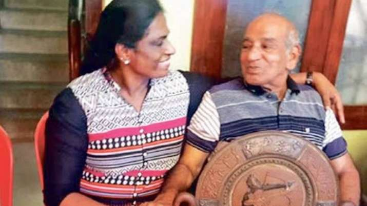 PT Usha's coach Nambiar passes away - India TV Hindi
