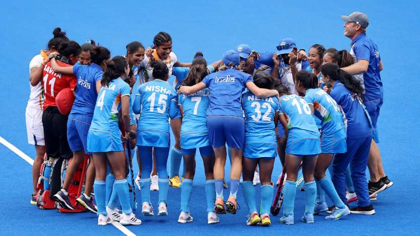 Women's hockey team created history by reaching semi-finals, Kamalpreet ranked 6th Tokyo Olympics 20- India TV Hindi