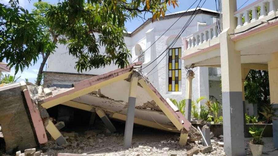 हैती के तटवर्ती क्षेत्र में 7.2 तीव्रता का भूकंप, 29 लोगों की मौत - India TV Hindi