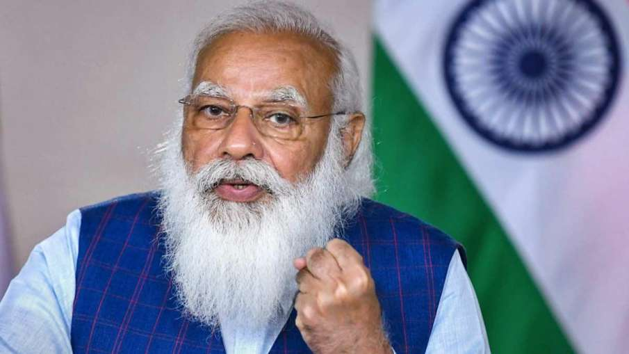 PM Modi congratulates Ravi Dahiya on winning silver at Tokyo Olympics- India TV Hindi