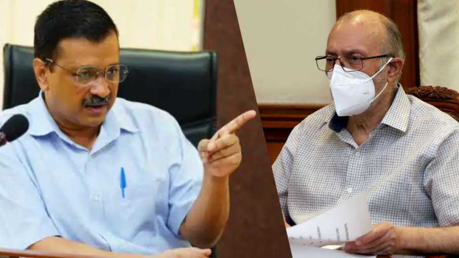 कोरोना: LG ने अधिकारियों के साथ की बैठक तो बिफर गए केजरीवाल- India TV Hindi