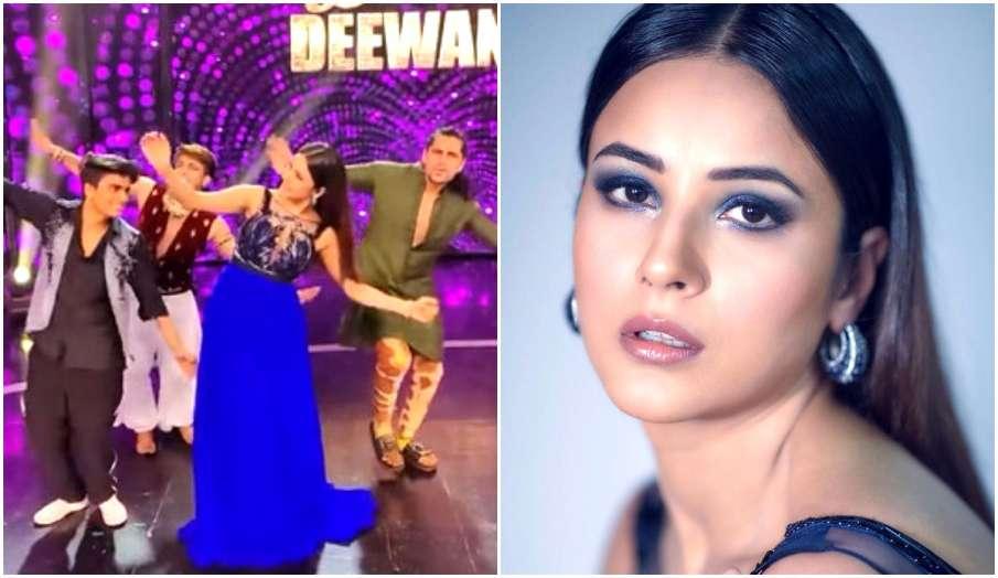 shehnaaz gill dance on param sundari song with dance deewane 3 contestants watch - India TV Hindi