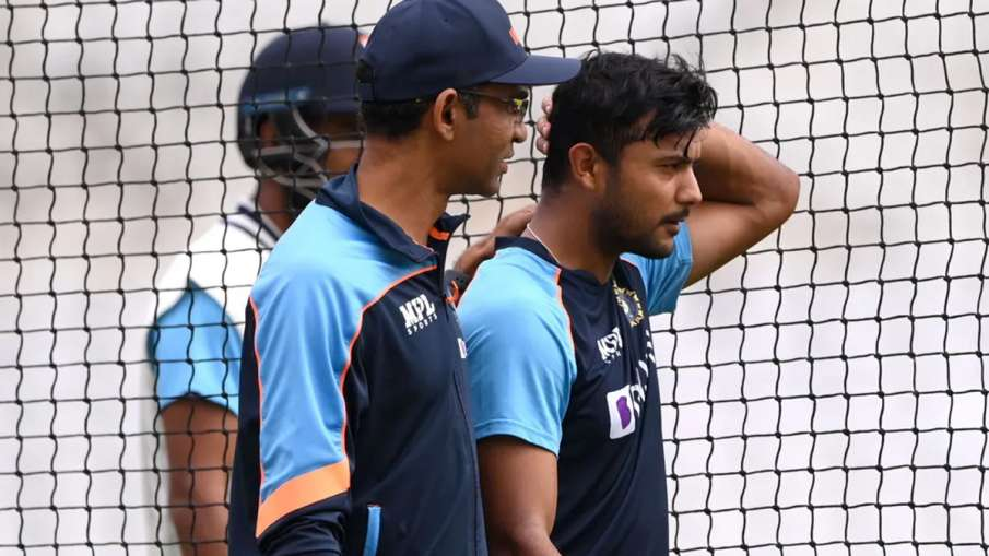 Mayank Agarwal ruled out of first Test, hit ball on head during nets session IND vs ENG- India TV Hindi