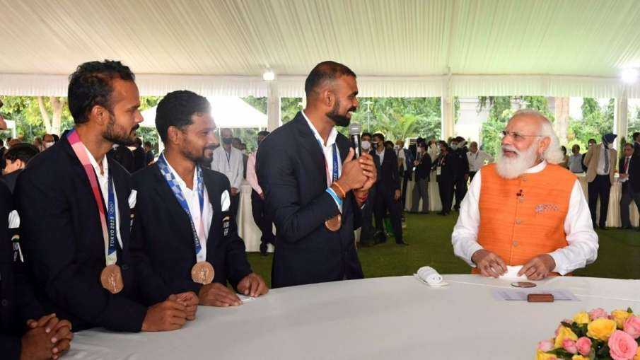 Have you learnt Punjabi, PM asked Sreejesh; praised...- India TV Hindi