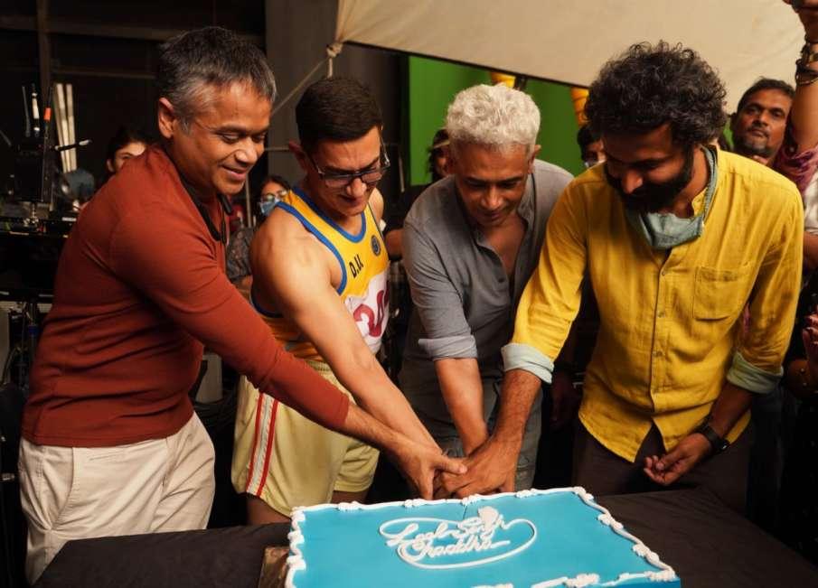 आमिर खान-करीना ने पूरी की 'लाल सिंह चड्ढा' की शूटिंग- India TV Hindi