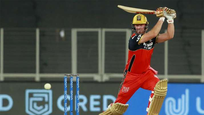 IPL 2021 | AB de Villiers hit a stormy century in the practice match, watch video- India TV Hindi