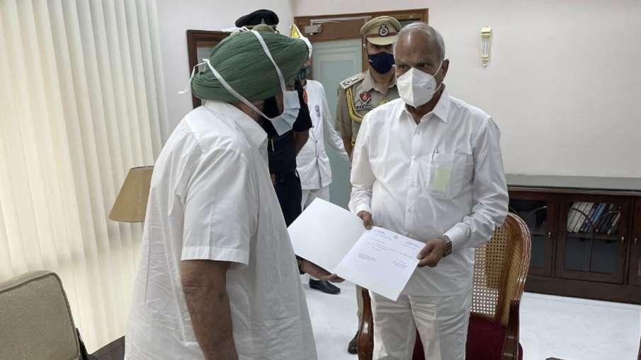 captain amarinder singh resigns, amarinder singh resigns, Punjab chief minister resigns- India TV Hindi