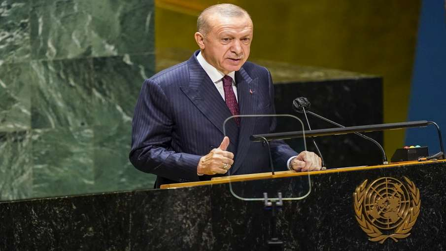 Turkey raises kashmir issue in UNGA तुर्की ने UNGA में फिर अलापा कश्मीर का राग- India TV Hindi