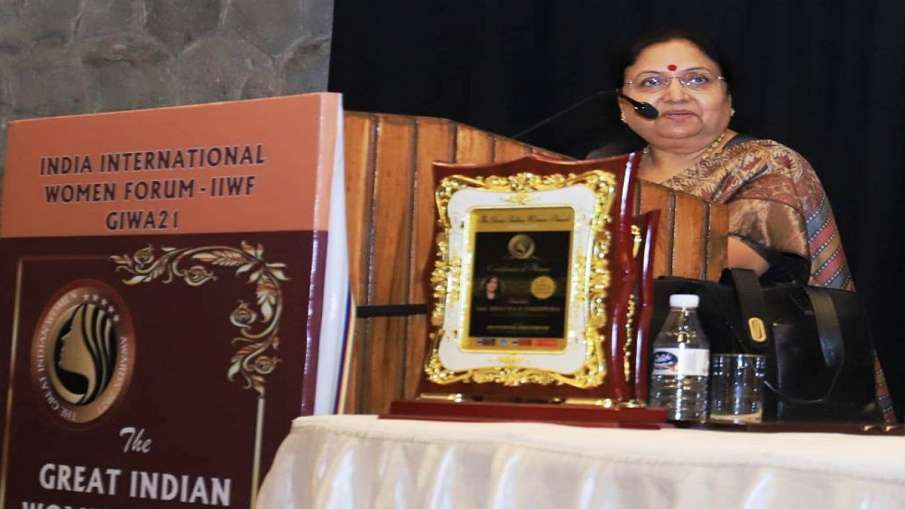Uttrakhand Governor baby rani maurya resigns उत्तराखंड की राज्यपाल बेबी रानी मौर्य ने दिया त्यागपत्र- India TV Hindi