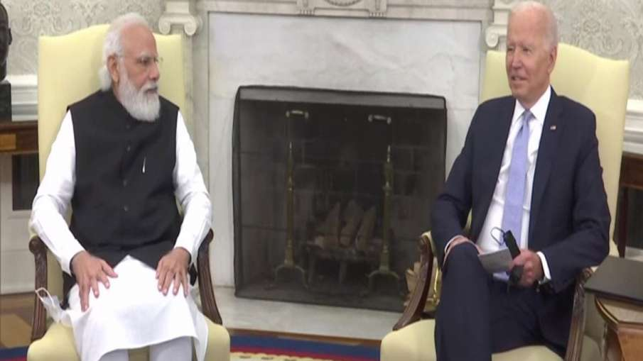 Wanted to marry an Indian woman, Biden says during his meeting with PM Modi- India TV Hindi