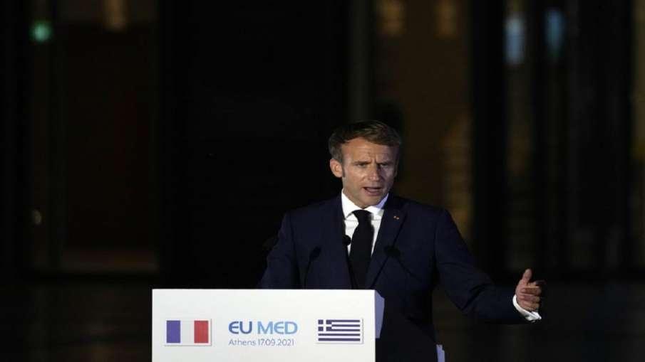 France's Macron to talk to Biden amid crisis over submarines- India TV Hindi