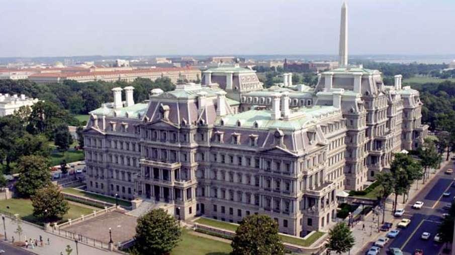 Eisenhower Building, Eisenhower Building Modi Harris, PM Modi and Kamala Harris- India TV Hindi
