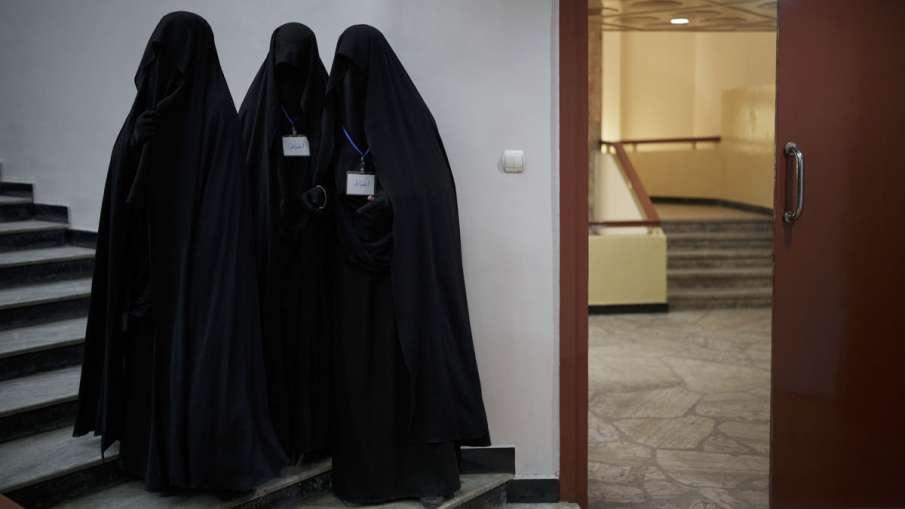 Girl Students Burqa, Girl Students Burqa Bihar, Girl Students Burqa Bhagalpur- India TV Hindi