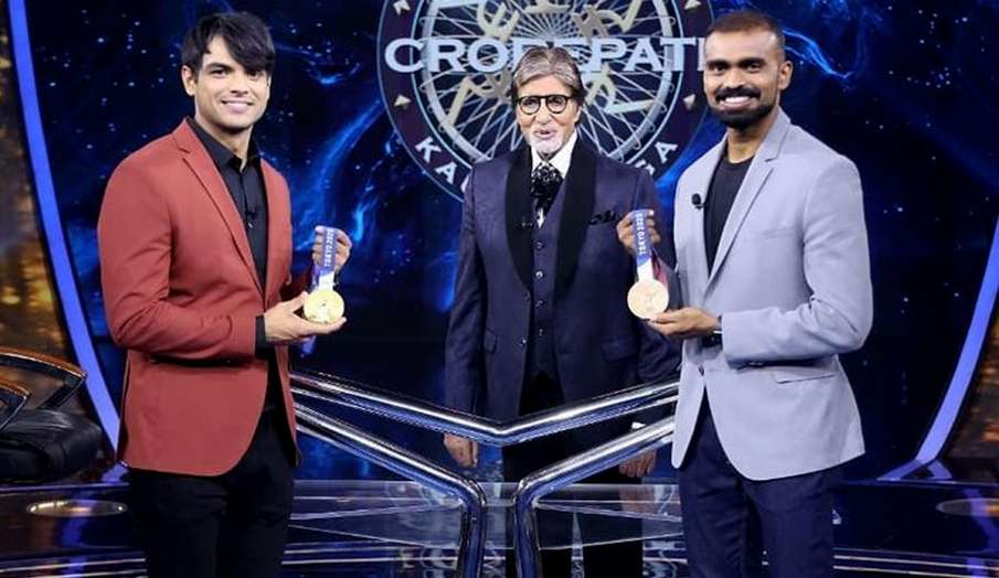 Amitabh Bachchan Haryanvi classes with Neeraj Chopra watch this funny promo- India TV Hindi