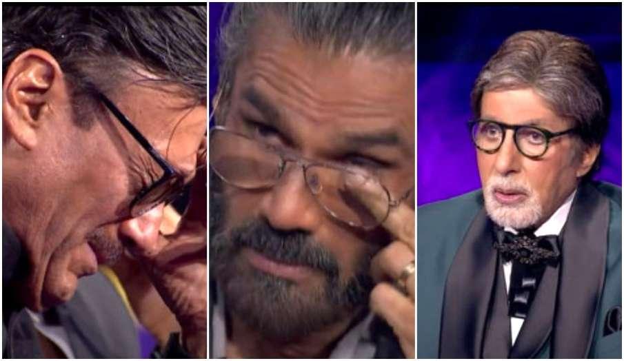 jackie shroff suniel shetty amitabh bachchan emotional in kaun banega crorepati 13 kbc 13 new promo - India TV Hindi
