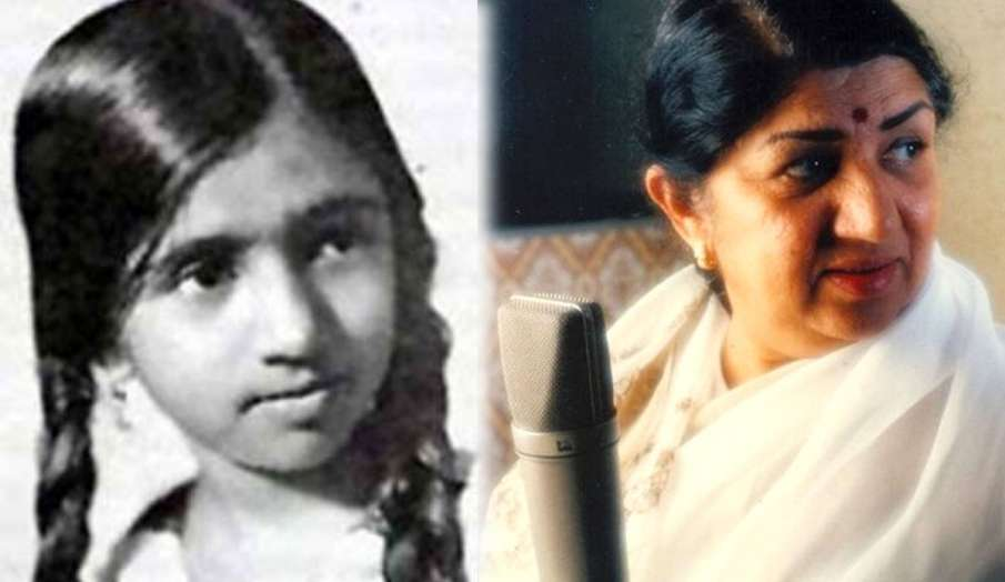 lata mangeshkar 83 years old photo first performance with father instagram post - India TV Hindi