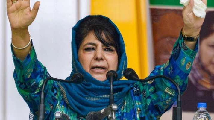 PDP to fight upcoming assembly elections in Jammu and Kashmir: Mehbooba Mufti- India TV Hindi