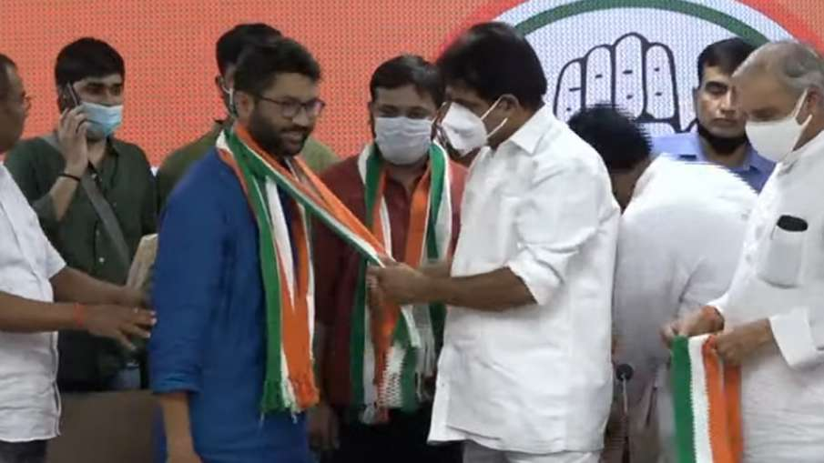 Kanhaiya Kumar, Kanhaiya Kumar joins Congress, Jignesh Mevani joins Congress- India TV Hindi
