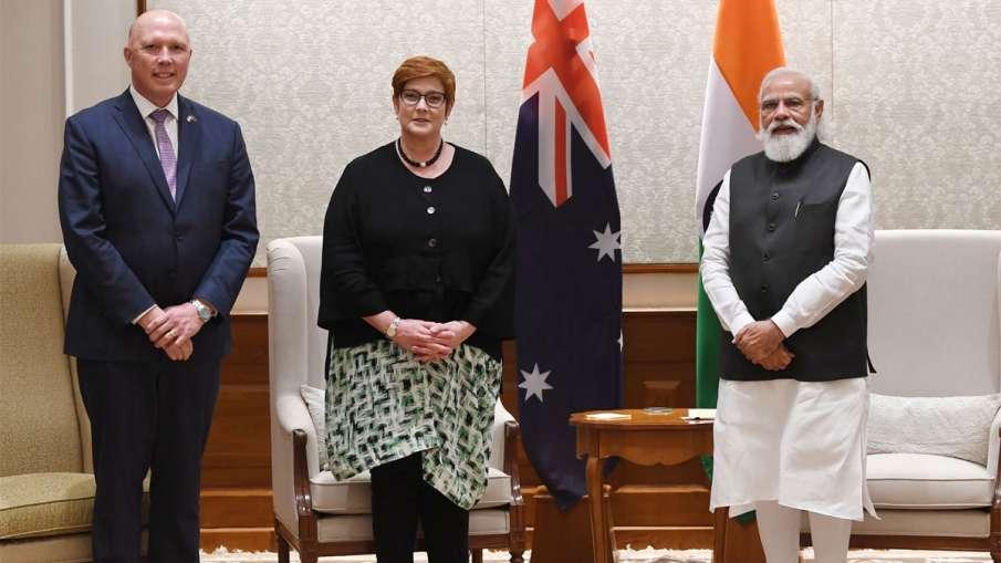 2+2 Dialogue, 2+2 Dialogue Australia, 2+2 Dialogue Narendra Modi, Narendra Modi- India TV Hindi