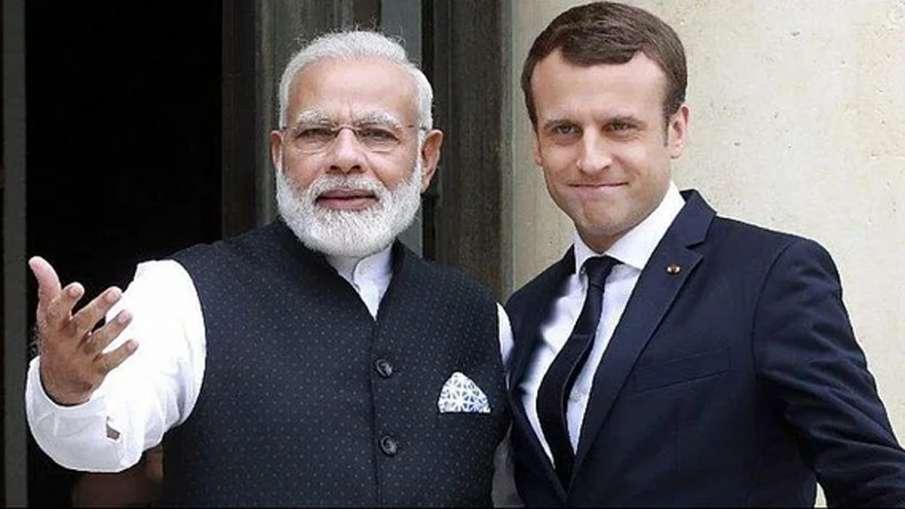 Narendra Modi, Narendra Modi Emmanuel Macron, Emmanuel Macron, Modi Macron- India TV Hindi