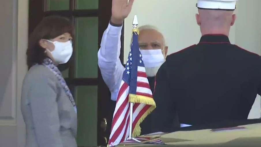 PM Modi Mentions Mahatma Gandhi during his meeting with Joe Biden- India TV Hindi