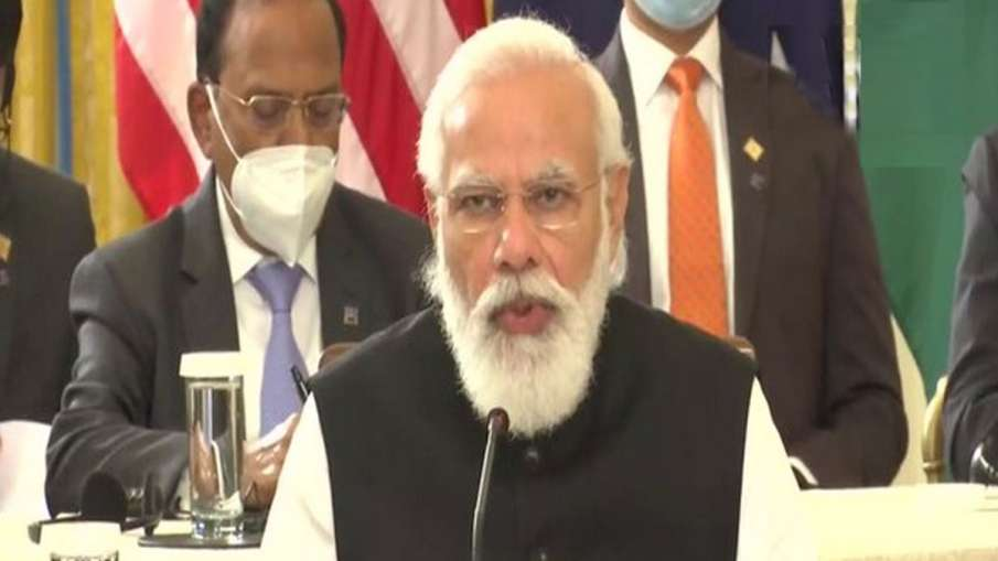 Will work together in Indo Pacific, PM Modi says in QUAD meeting- India TV Hindi