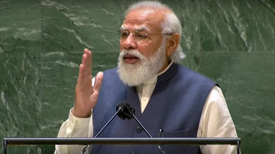 Narendra Modi, Narendra Modi Speech UN, Narendra Modi Speech UNGA, Narendra Modi UNGA- India TV Hindi