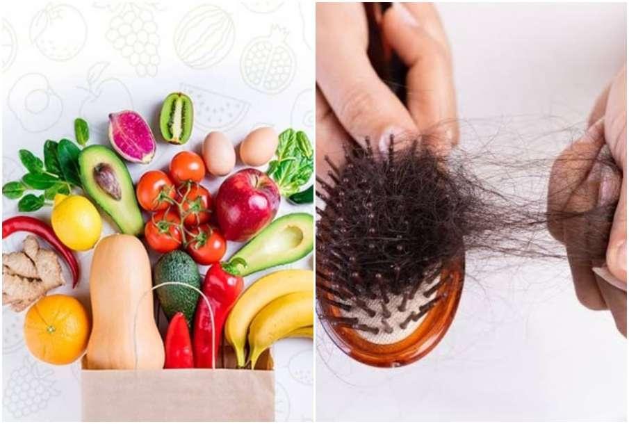 Fruits Vegetable and hair fall- India TV Hindi