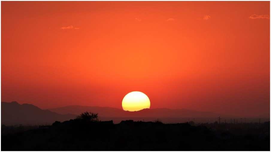 sunset- India TV Hindi