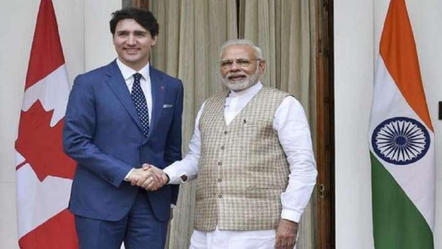 पीएम मोदी ने संसदीय चुनावों में जीत के लिए कनाडा के प्रधानमंत्री जस्टिन ट्रूडो को बधाई दी - India TV Hindi