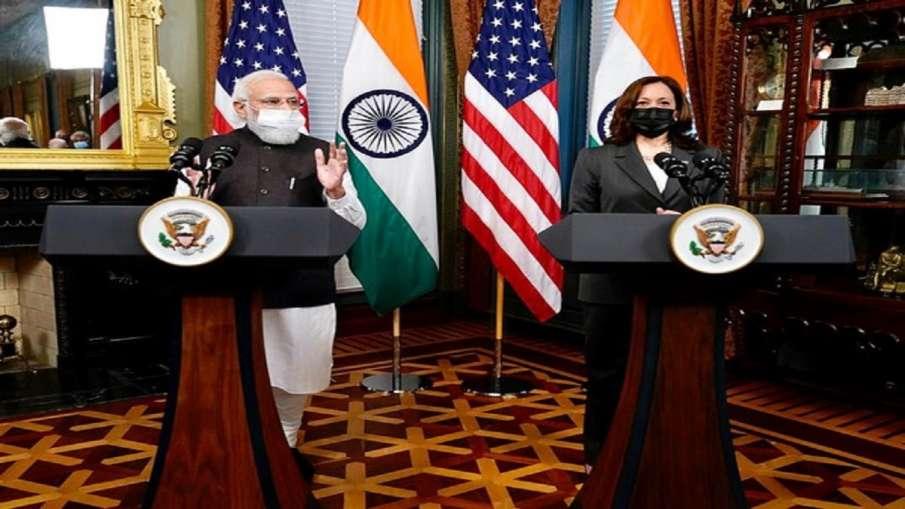 पीएम मोदी ने अमेरिकी उपराष्ट्रपति कमला हैरिस को भारत आने का निमंत्रण दिया - India TV Hindi