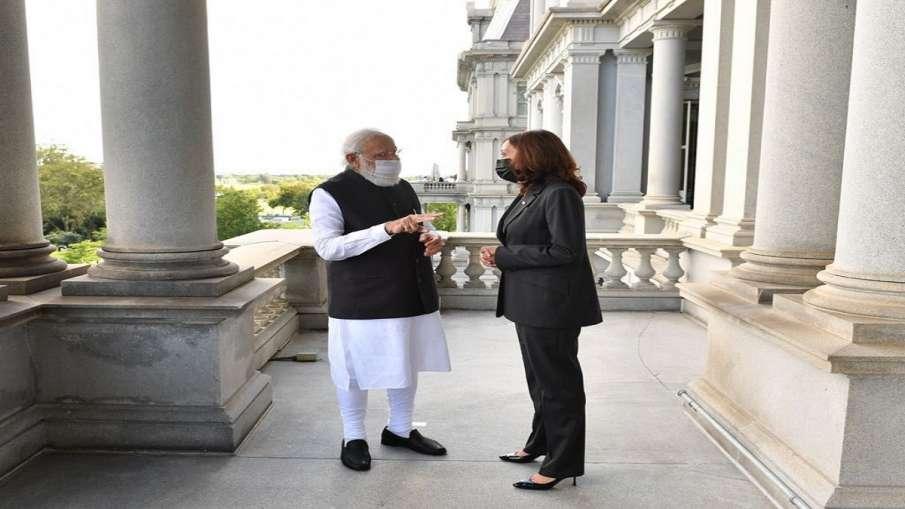 PM Narendra Modi & US VP Kamala Harris - India TV Hindi