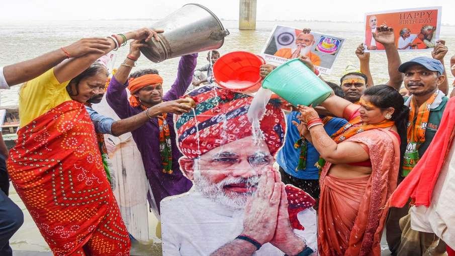 Chiranjivi Bhav BJP Leader Murli Manohar Joshi wishes PM Modi birthday 'चिरंजीवी भव:' , वरिष्ठ BJP न- India TV Hindi