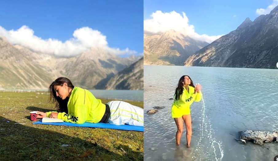 sara ali khan vacation in Kashmir with friends  - India TV Hindi