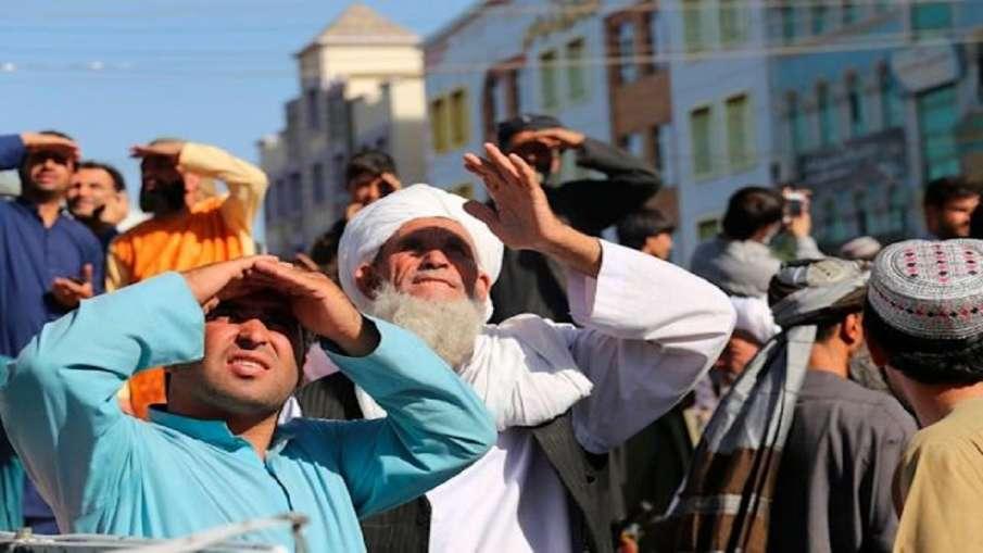 अफगानिस्तानः तालिबान ने हेरात शहर के मुख्य चौराहे पर शव को क्रेन से लटकाया - India TV Hindi