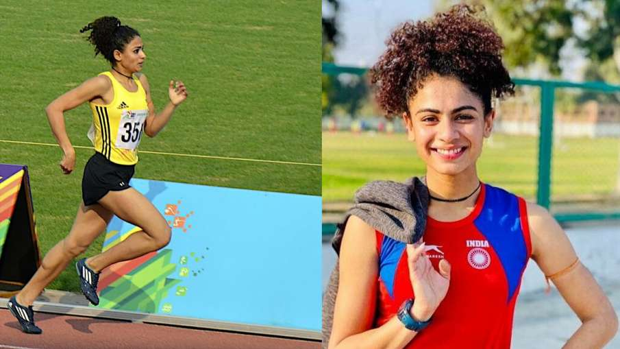 Harmillon won the title in 1500 meters by breaking a 19-year-old record- India TV Hindi