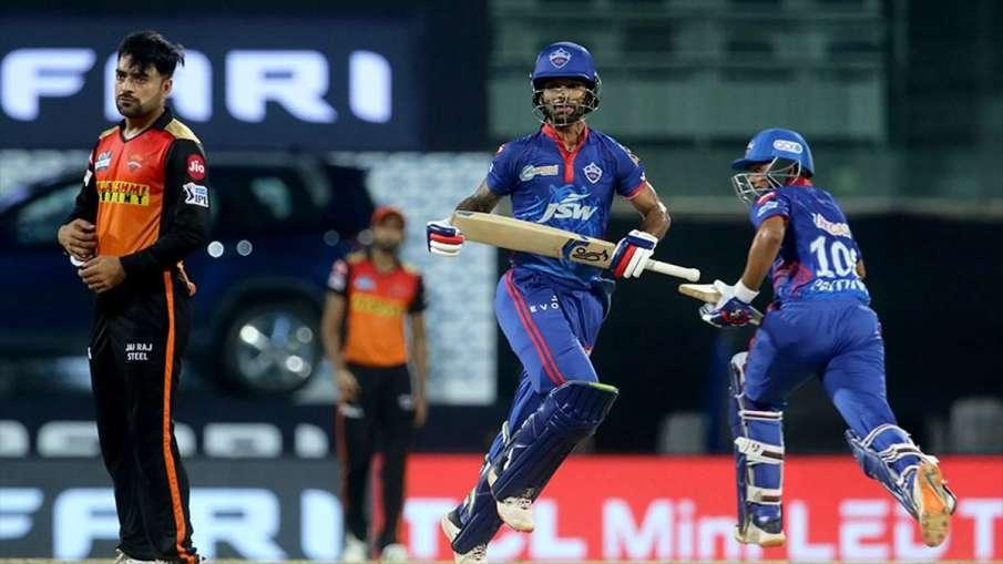 Live Streaming Cricket Delhi Capitals vs Sunrisers Hyderabad IPL 2021 Watch DC vs SRH Live Match Onl- India TV Hindi