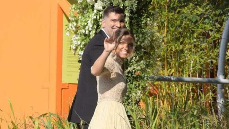 Simona Halep marries boyfriend Toni Iuruc- India TV Hindi
