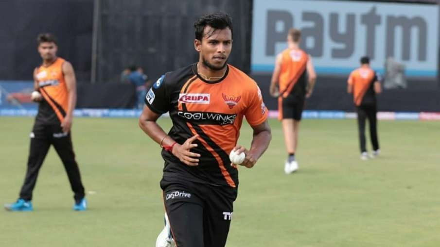 IPL 2021 DC vs SRH: Sunrisers Hyderabad player T...- India TV Hindi