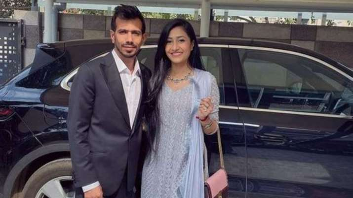Wife Dhanshree Verma reacts on Yuzvendra Chahal's exclusion from T20I World Cup squad- India TV Hindi