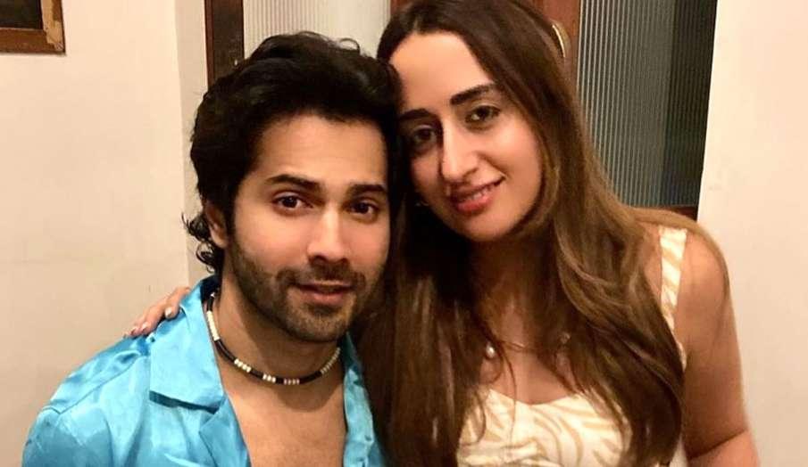 varun dhawan pic with wife natasha dalal - India TV Hindi