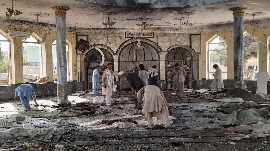 अमेरिका ने अफगान मस्जिद पर आत्मघाती हमले की निंदा की, कहा अफगान 'आंतक मुक्त भविष्य' के हकदार - India TV Hindi