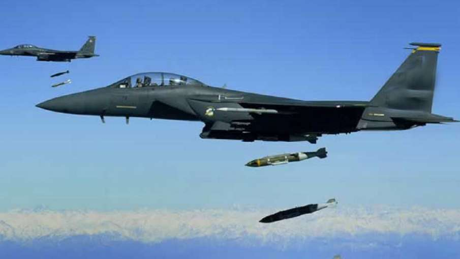 सीरिया की वायुसेना ने हवाई हमलों का जवाब दिया, हमलों में किसी के हताहत होने की खबर नहीं- India TV Hindi
